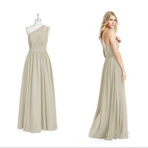 "Azazie Molly Bridesmaid Dress in ""Taupe"""